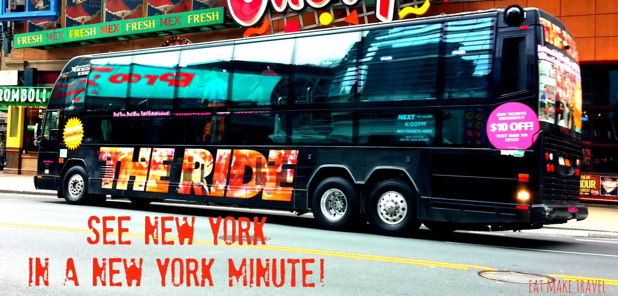 See New York in a New York Minute!