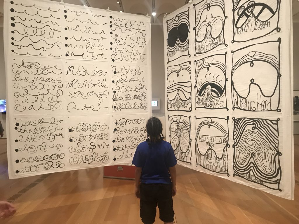 Boy at High Museum