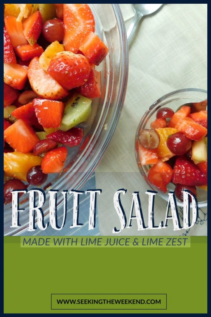 Induldge in the sweet and preservative free fruit salad recipe that will have you thinking you're eating a bowl of candy.
