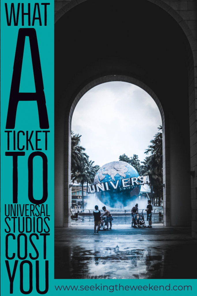 When visiting Los Angeles, you have to take a trip to Universal Studios Hollywood. We had an amazing time. This is what the ticket cost (metaphorically).