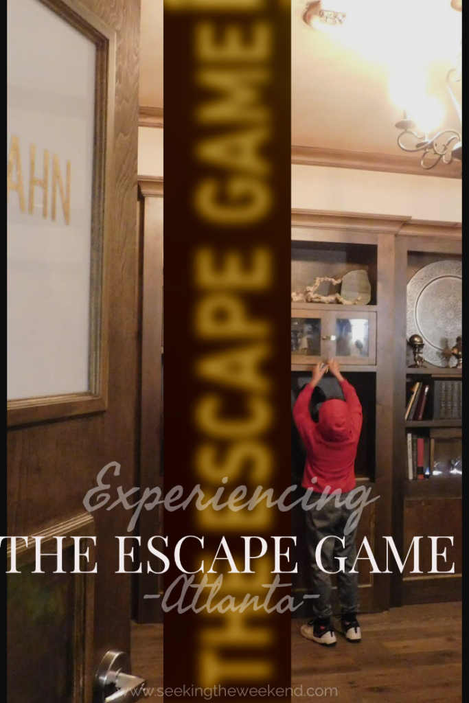 The Escape Game in Atlanta is the perfect group outing that'll have you working together to figure out how to escape one of the 5 adventures they offers.